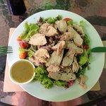 Chicken quinoa salad! Yum!!