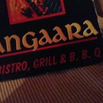 Angaara Restaurant Menu