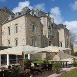 Terrasse Restaurant Hotel Manoir de Kerhuel