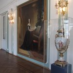 Grand paintings in one of the halls