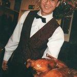 Der Chef mit Peking-Ente