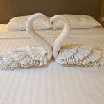 Honeymoon decoration!