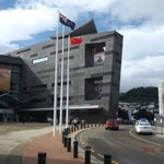 View of Te Papa Museum