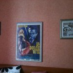 """Posters in """"La Dolce Vita"""" room"""