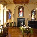 la salle à manger dansla chapelle