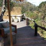 wonderful deck to lounge on