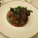 Thai style King prawn yummy