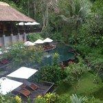 Pool near the spa