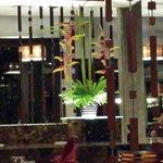 Beatiful surroundings inside Mook Talay Restaurant