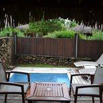 Courtyard of the Garden Pool Bungalow