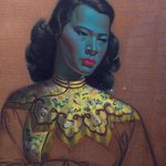 Chinese Lady by Tretchikoff displayed in reception
