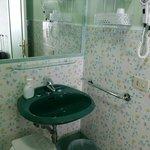 The pretty bathroom