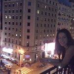 vistas desde la habitacion, de Plaza España a Callao, los musicales...