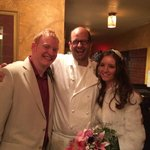 Me & my wife with Chef Jean-Claude
