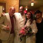 Me & my wife with Chef Jean-Claude & his wife