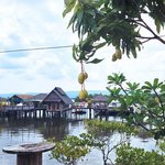 The Thmorda Crab House and pier where you can relax the whole day