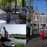 Enjoy the highlights of Rotterdam, nearby countryside or visit the cheese city Gouda