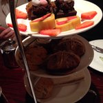Lovely Easter Afternoon tea on arrival!!