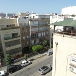 4. View of Tel Aviv from my rental apartment at Dizengoff Beach Apartments, Tel Aviv.