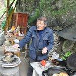 """Vendor selling 'Tuga"""""""