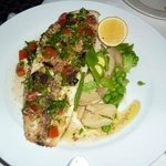 sole with sauce vierge