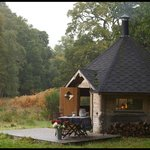 Our nearby Hobbit House - great for BBQs