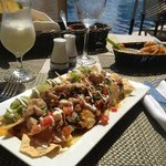 nachos for lunch 'starter'!
