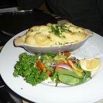 gratin saumon pommes de terre et poireaux
