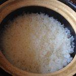 朝食 感動したお米ー広島産のミルキークイーン