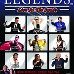 Legends 2014 Poster - Book Now on 01253 625 262