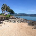Boardwalk to Airlie Beach