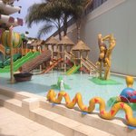 Children's  outdoor fun pool