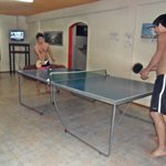 ping pong area recreativa