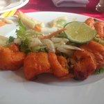Yummy fish tikka