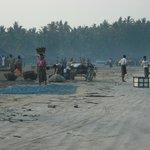 spiaggia villaggio pescatori