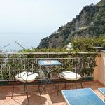 View from Positano Art Hotel - Room #12