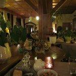 Le restaurant à l'ambiance chaleureuse