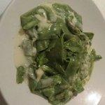 Yummy (fresh) Spinach Past