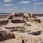 Для сравнения: городище Топрак-Кала в Хорезмской области