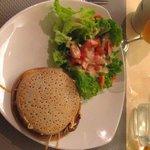 """La crêpe façon """"Burger"""" - Crêperie de l'Ours Noir Lescar (64)"""