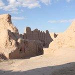 Для сравнения: городище Аяз-Кала в Хорезмской области