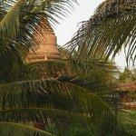 la pagoda nel giardino dell'hotel