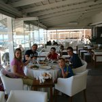 Family lunch on Easter Sunday