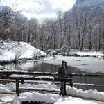 Lake at Linderhof Palace with Gray Line tours
