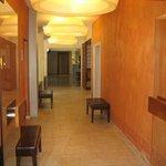 Vue intérieur de l'hôtel
