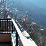 balcone camaera con bagno in comune bella vista mare-monti