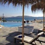 Poolside at Olia