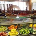 buffet frutta per la colazione