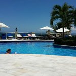 Pool View overlooking beach