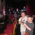 Grandkids enjoying the music